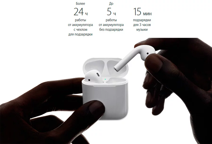 Apple AirPods: Фото 2